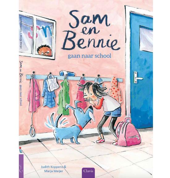Sam en Bennie gaan naar school